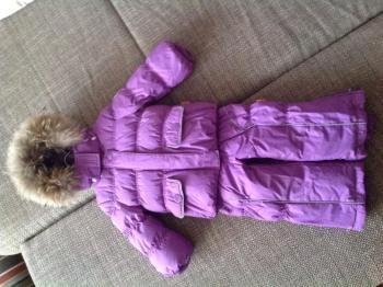 NELS Комплект пуховый зимний (куртка+полукомбинезон). Финляндия.